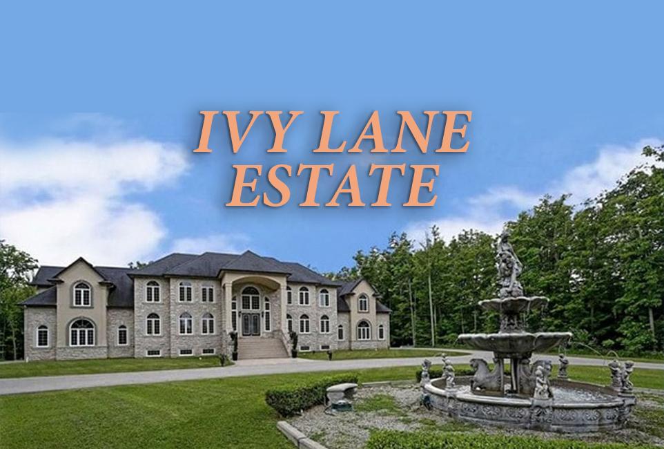 Ivy Lane Estate   13 Acre Secluded Event Venue Near Hamilton w/ 150 Guest Capacity