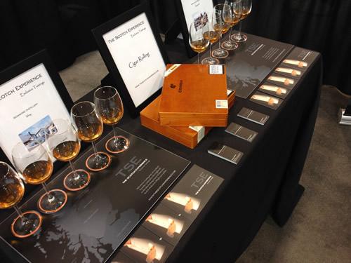 Scotch Experience Setup