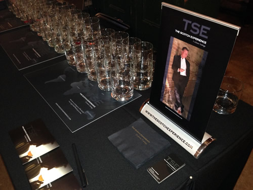 Scotch Experience Table