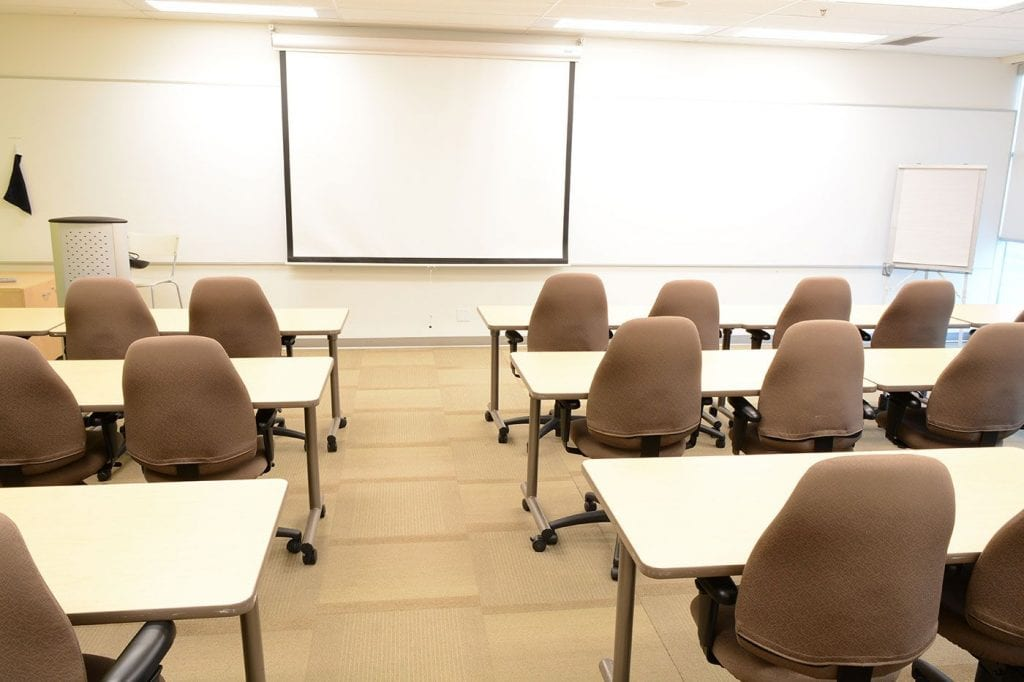Mississauga Corporate Events & Meetings Centre - Training Room