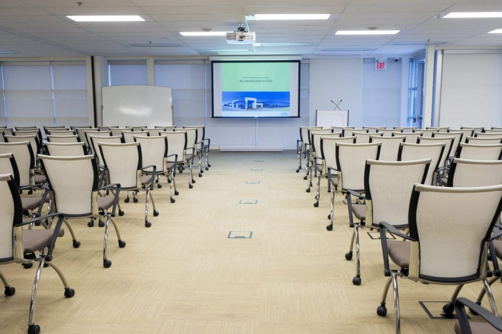 Mississauga Corporate Events & Meetings Centre (projector)