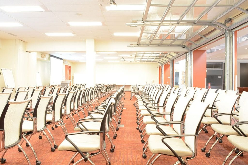 Mississauga Corporate Events & Meetings Centre - Theatre Style