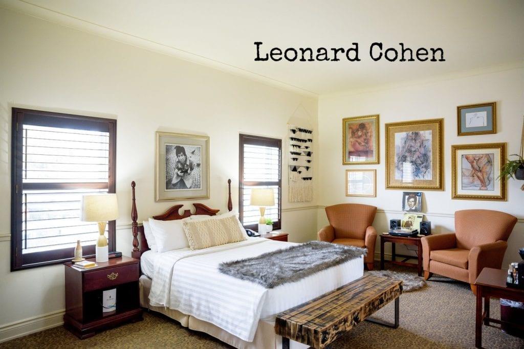 Arlington Hotel - Leonard Cohen
