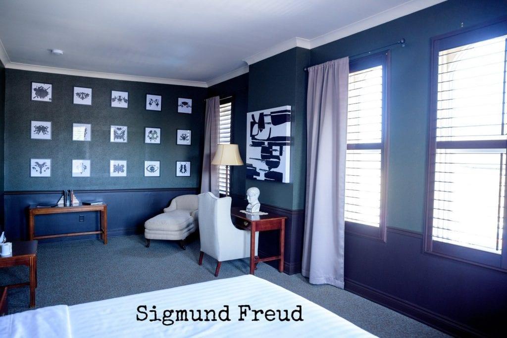 Arlington Hotel - Sigmund Freud