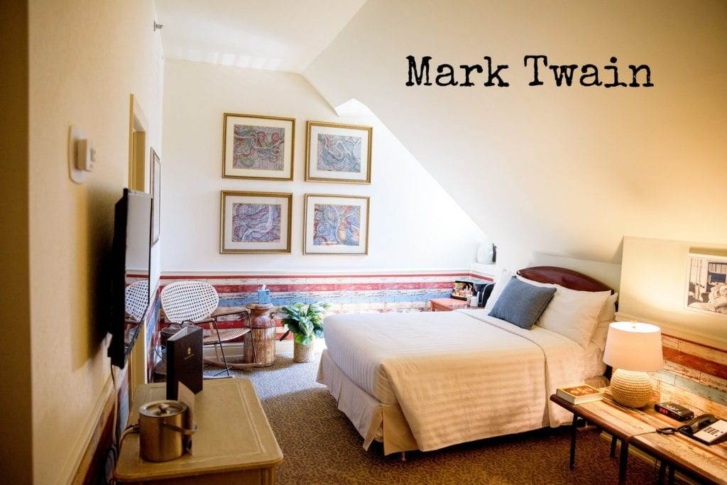 Arlington Hotel - Mark Twain