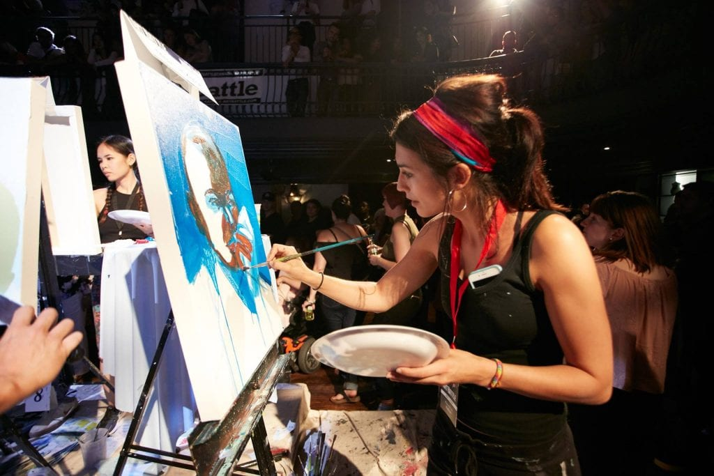 Live Art Battle | Team Building with Live Art Competitions