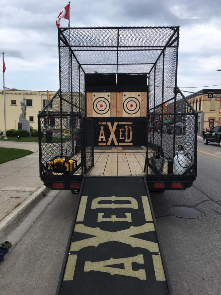AXED Throwing | Mobile Axe Throwing for Corporate Events