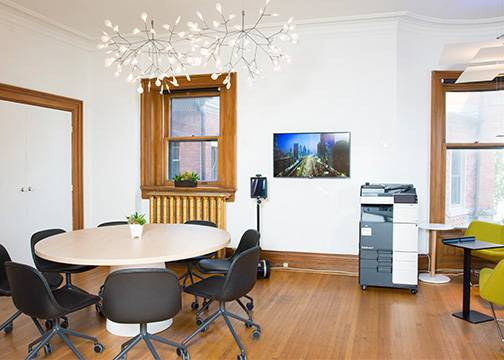 Berkeley Innovation Centre | 3 Meeting Spaces in Historic Toronto Mansion