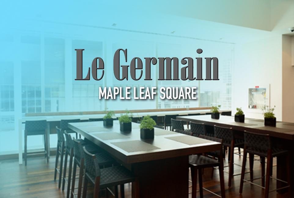 Le Germain Maple Leaf Square Toronto logo