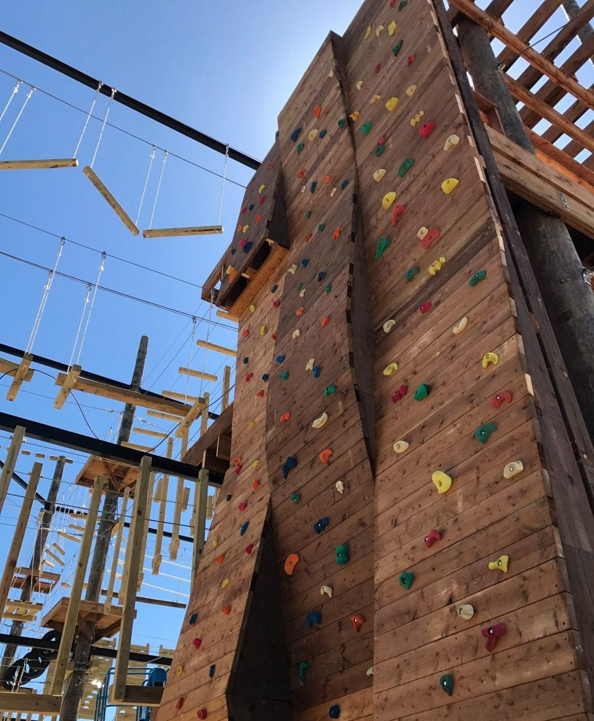 Rock Climbing Wall - Ascent Aerial Park | Adventure Park Overlooking Sauble Beach