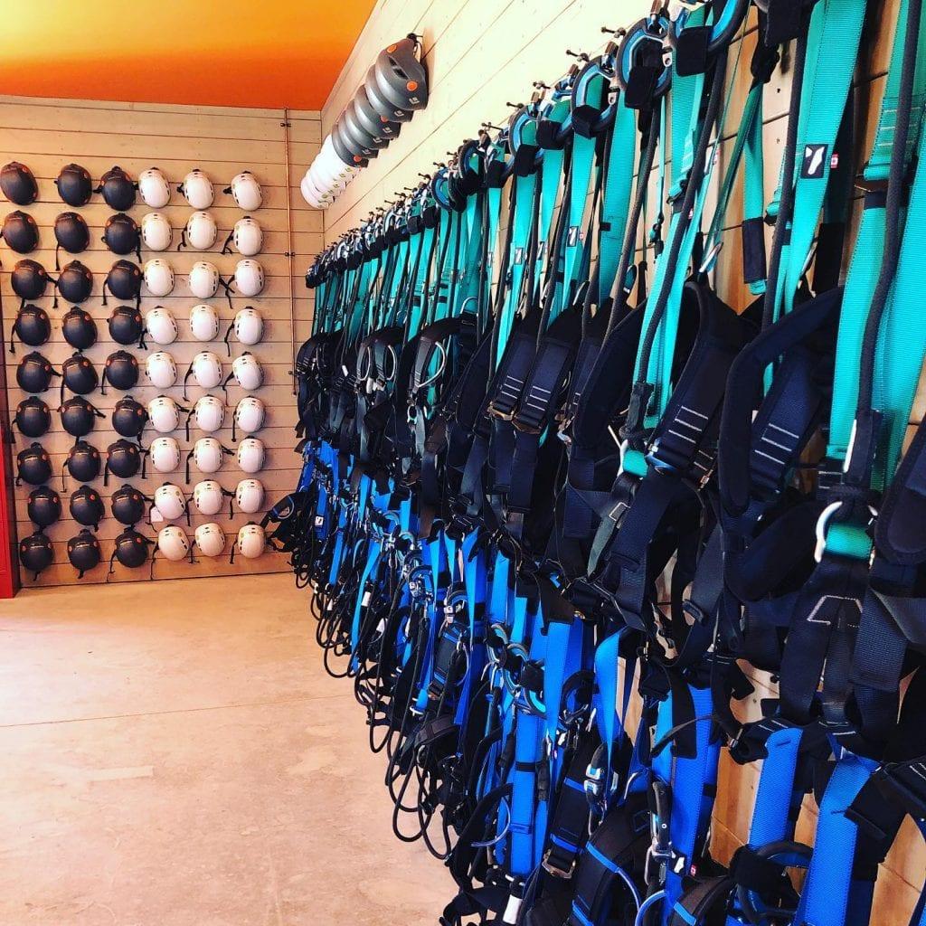 Rock Climbing Gear - Ascent Aerial Park | Adventure Park Overlooking Sauble Beach