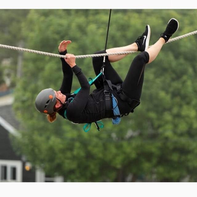Tightrope - Ascent Aerial Park | Adventure Park Overlooking Sauble Beach