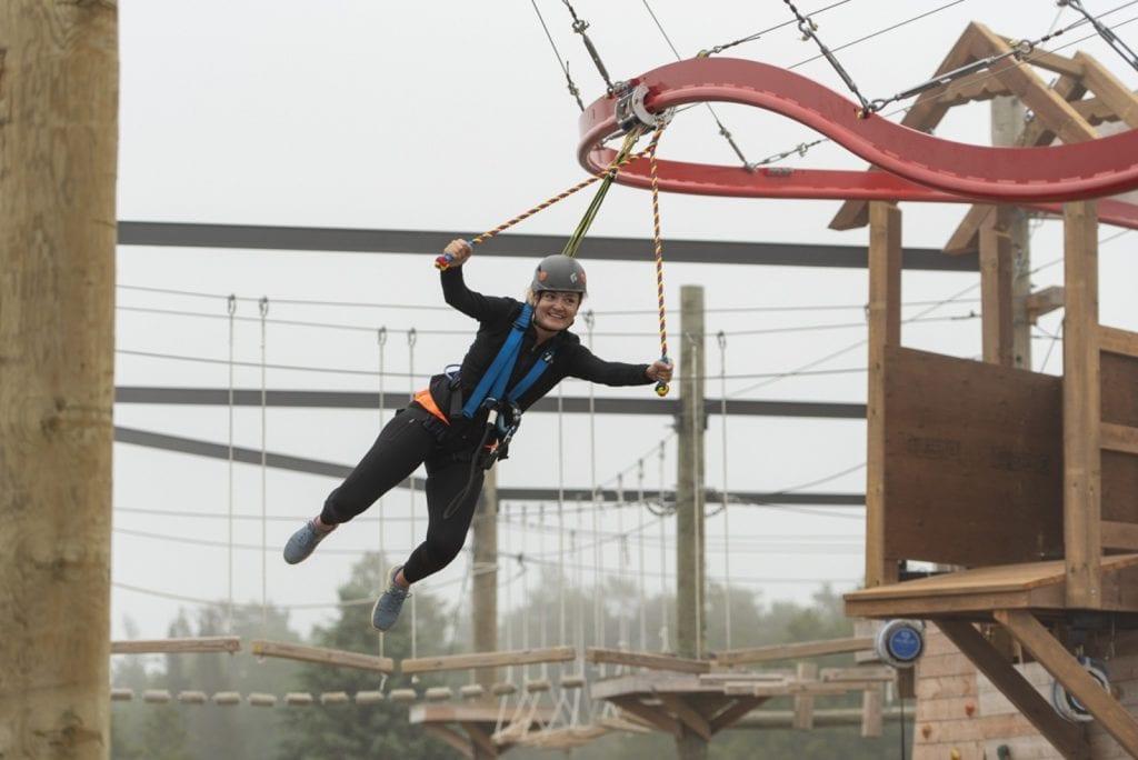 Ziplining - Ascent Aerial Park | Adventure Park Overlooking Sauble Beach