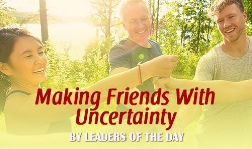 Making Friends With Uncertainty